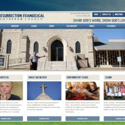 Omaha Church Website Design Sample 2