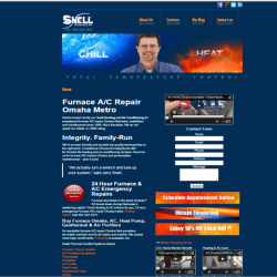 snell heating and ac omaha website designer stern pr